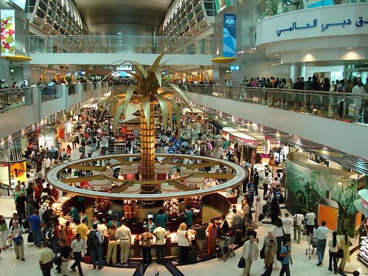 Международный аэропорт Дубая вновь назван одним из лучших в мире для шоппинга